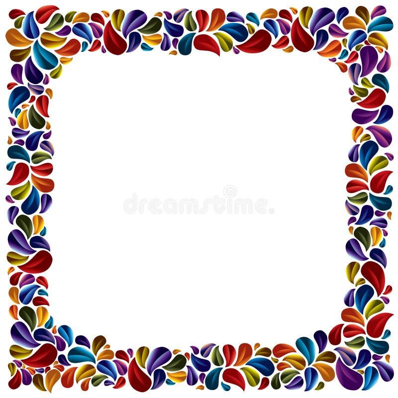 Download Flower Petal Frame. Royalty Free Stock Images - Image: 17641479