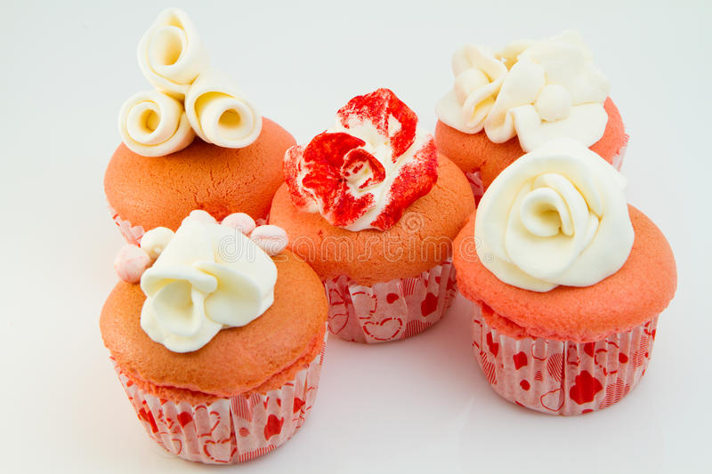 Download Flower Pink Cupcakes Royalty Free Stock Images - Image: 32225739