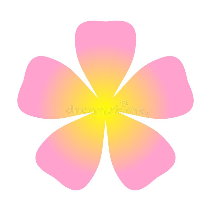 single flower petals clip art