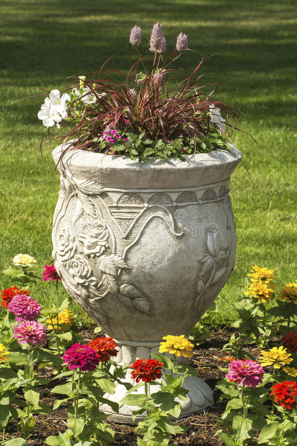 Download Flower Pot stock image. Image of flowers, beautiful, colorful - 31906887