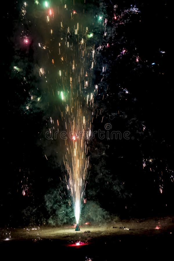 Free Flower Pot - Most Famous Firecracker Of Diwali Stock Images - 136764344