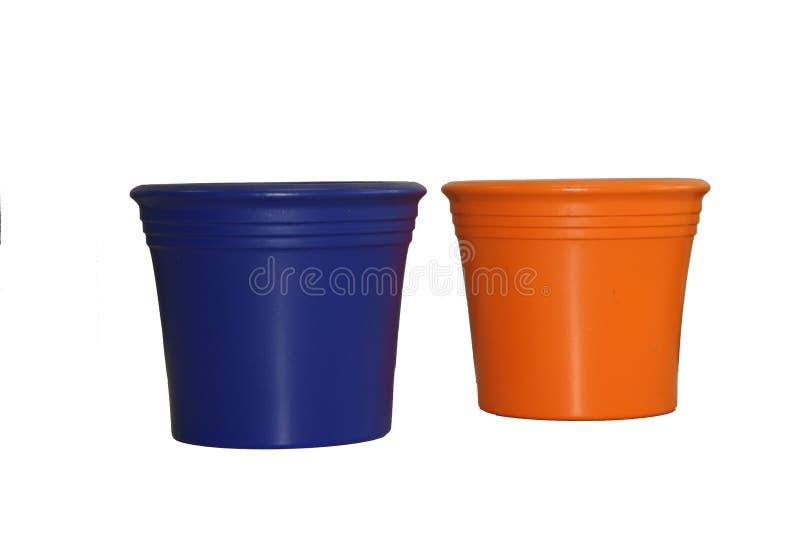 Flower Pots 2 Royalty Free Stock Photo