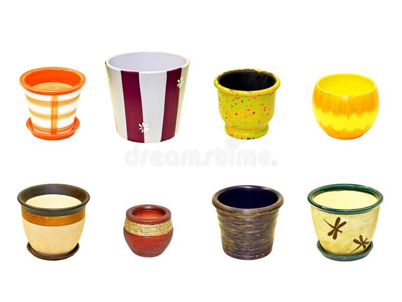 Download Flower pots stock image. Image of brown, terracotta, earthenware - 6701543