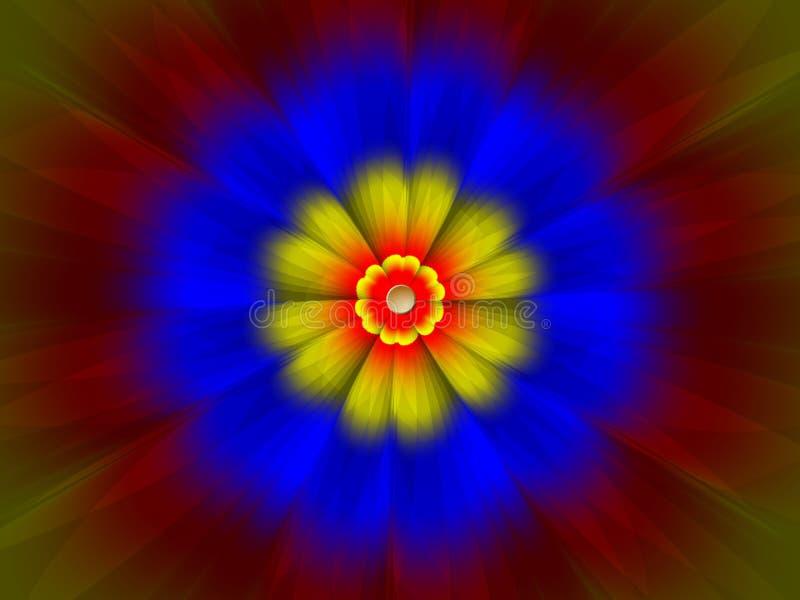 Flower power vektor illustrationer