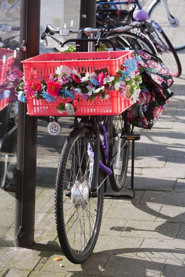 Flower power bike stock photos