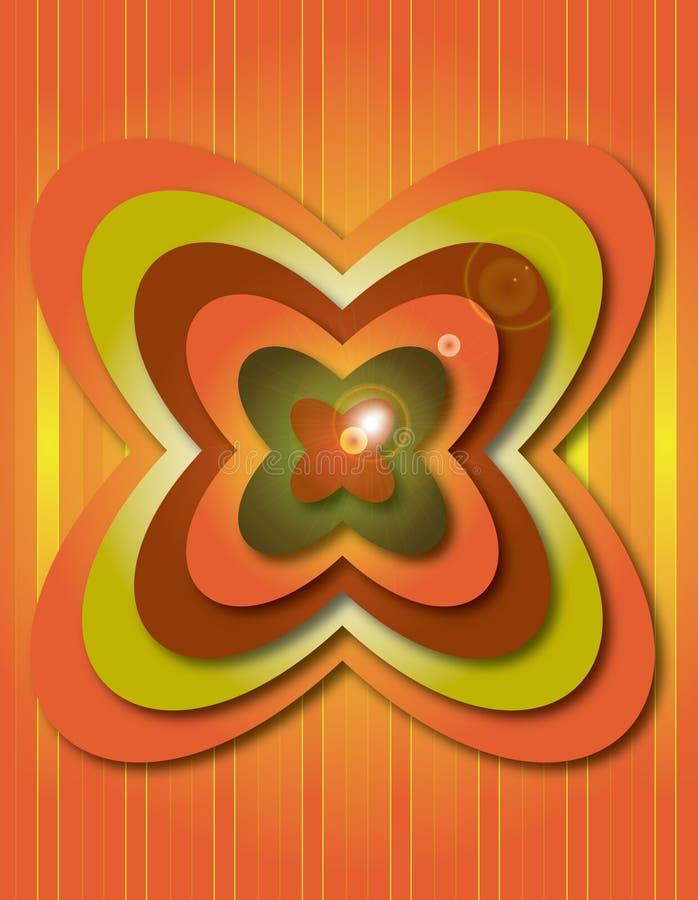 Flower PowPower vector illustration