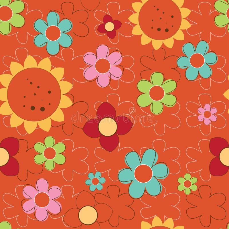 Flower Print Royalty Free Stock Photo