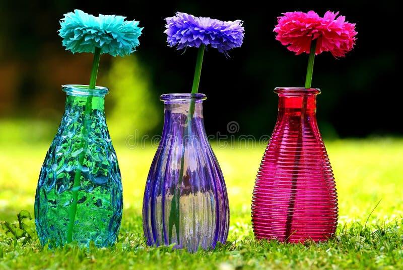 Flower, Purple, Glass Bottle, Vase Free Public Domain Cc0 Image