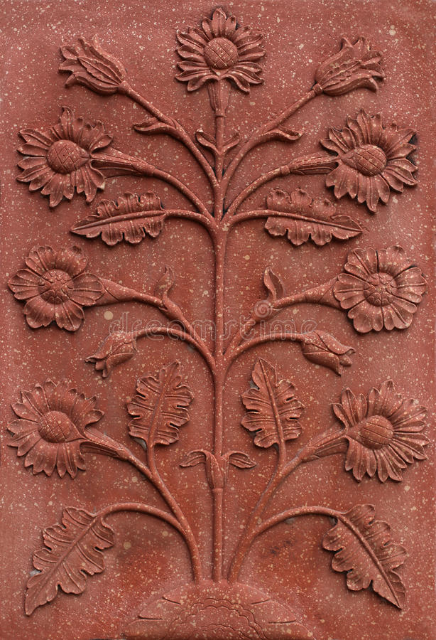 Free Flower Relief Royalty Free Stock Photos - 38787018