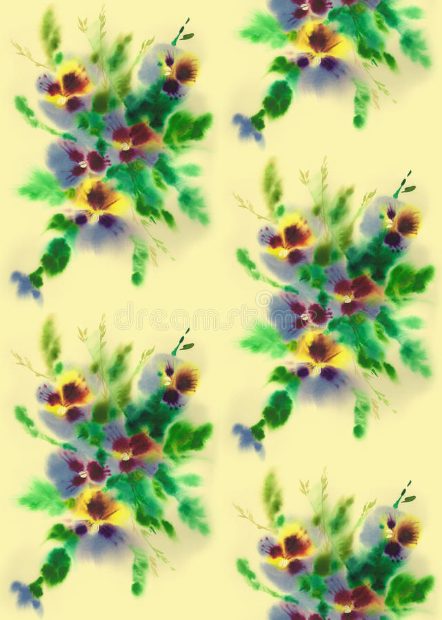 Free Flower S Seamless Texture Royalty Free Stock Image - 20450326