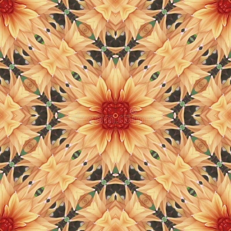 Flower seamless pattern (4) royalty free stock photos
