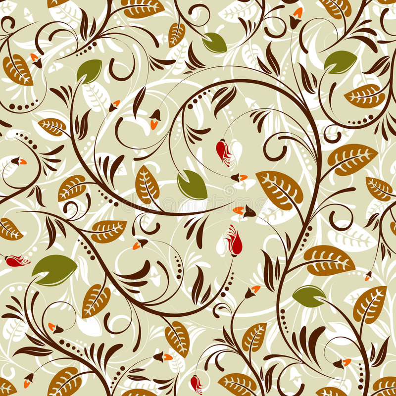 Download Flower seamless pattern stock vector. Image of floral - 5734252