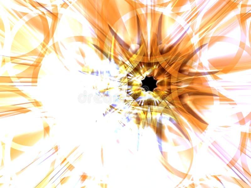 flower shining διανυσματική απεικόνιση
