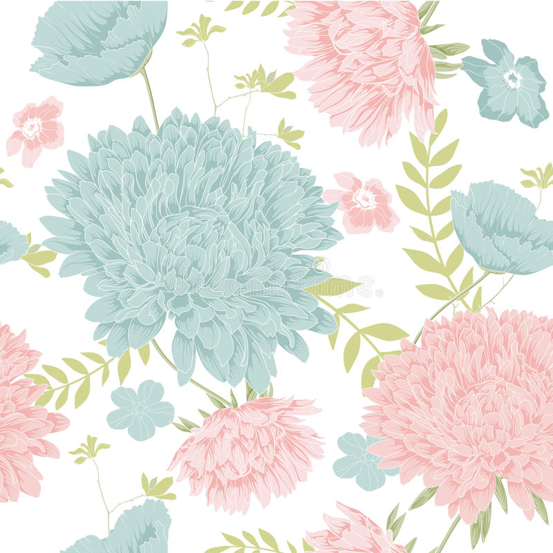 Flower spring vector royalty free illustration