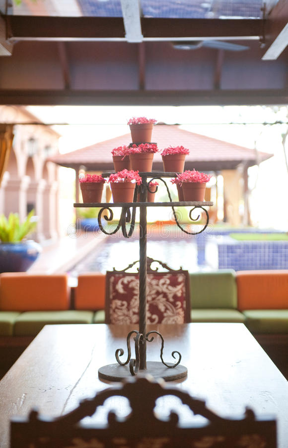 Download Flower Stand Royalty Free Stock Photography - Image: 29025947