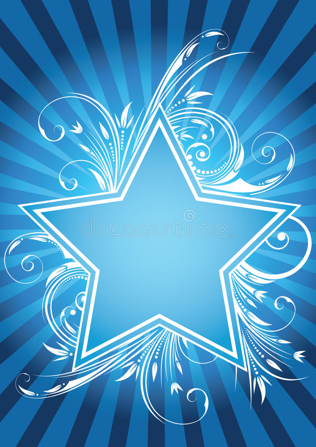 Free Flower Star Design Royalty Free Stock Photo - 4694615