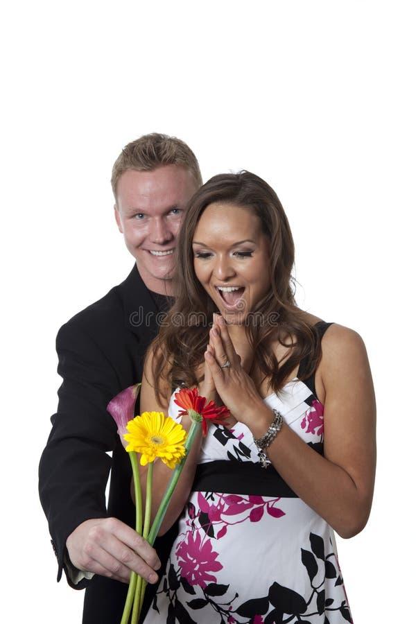 Flower Surprise Royalty Free Stock Image