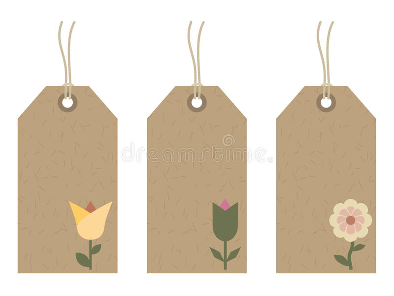 Download Flower tags stock vector. Illustration of emblem, flower - 11016033