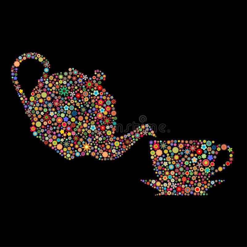 Download Flower tea stock illustration. Illustration of break - 14761761