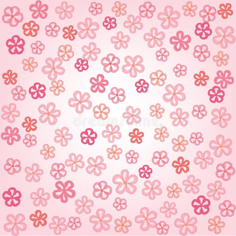 Flower tileable wallpaper stock illustration Illustration of fabric