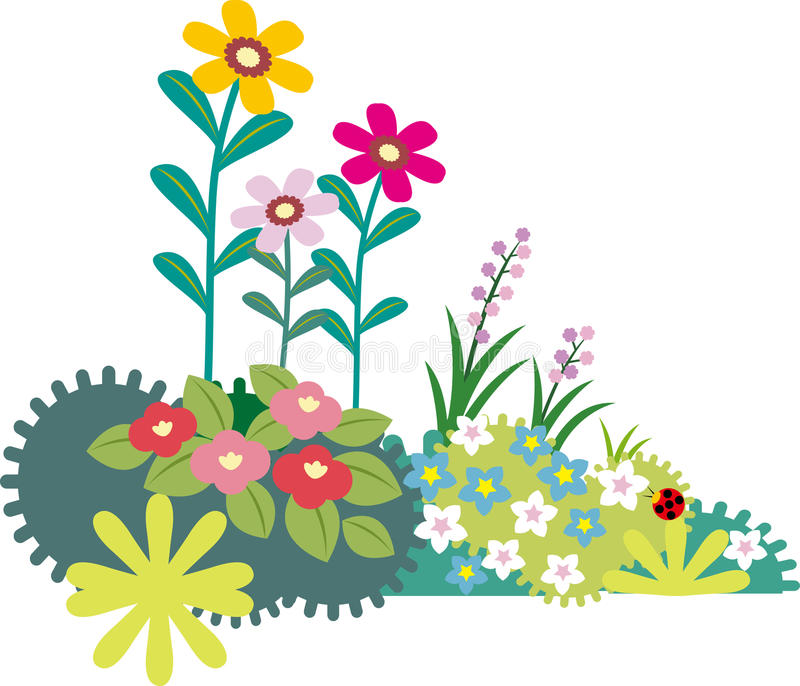 Download Flower stock vector. Image of retro, mature, cute, floral - 30739160