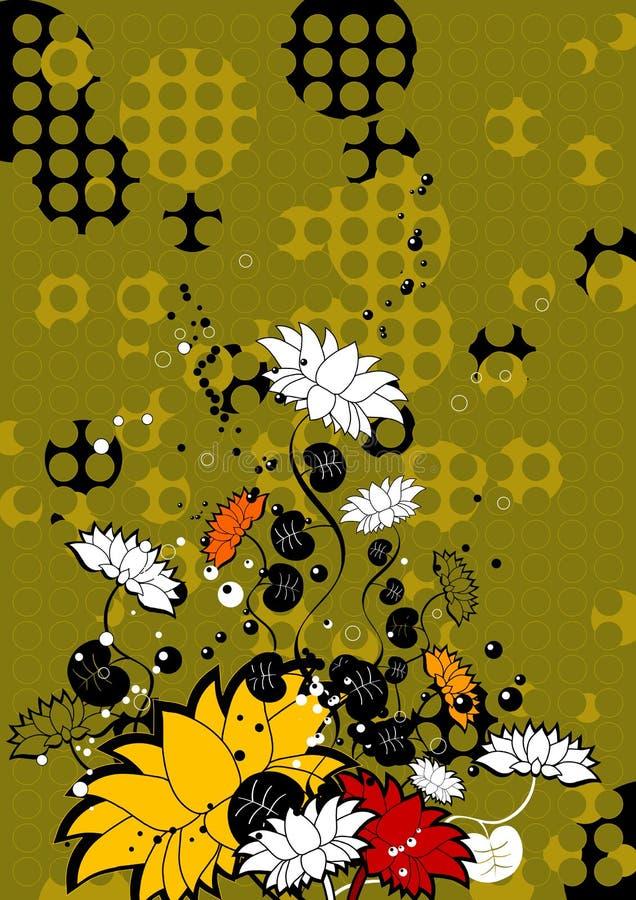 Flower , vector royalty free illustration