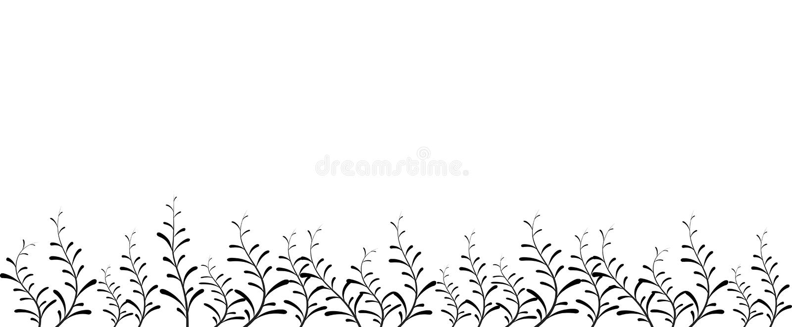 Download Flower Vector Background Or Abstract Frame Stock Vector - Image: 8201158