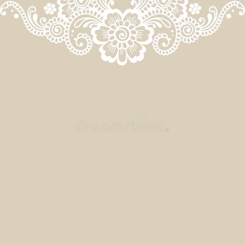 Free Flower Vector Ornament Corner Stock Image - 67740921