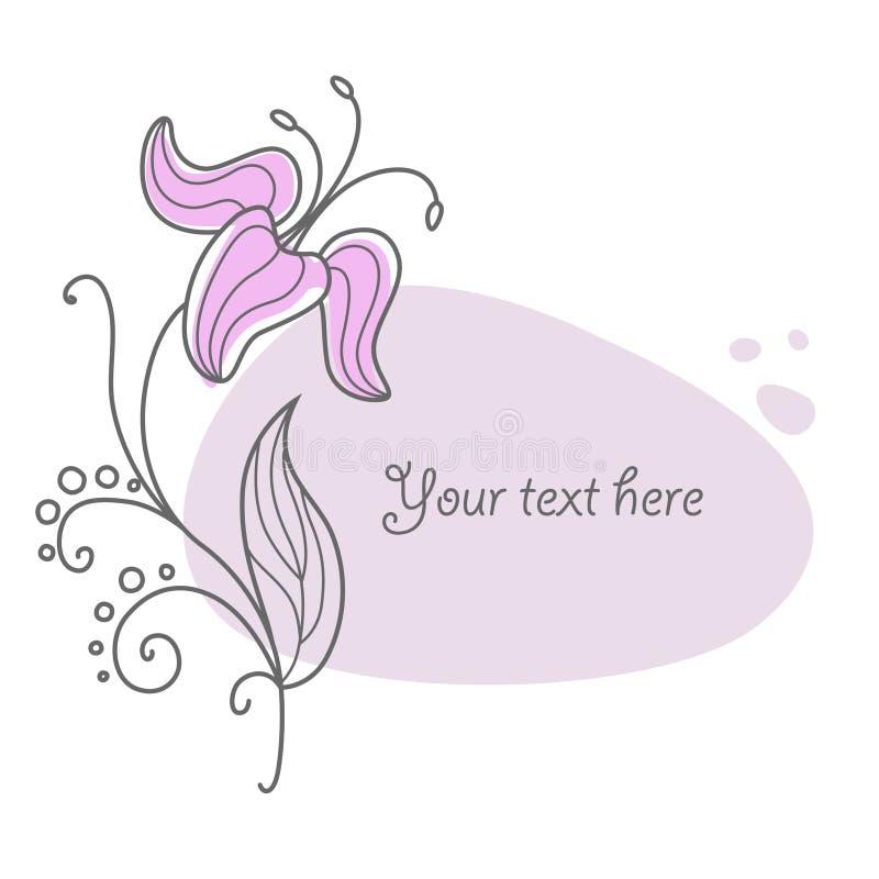 Download Flower vignette new 8 stock vector. Image of artwork - 13149669