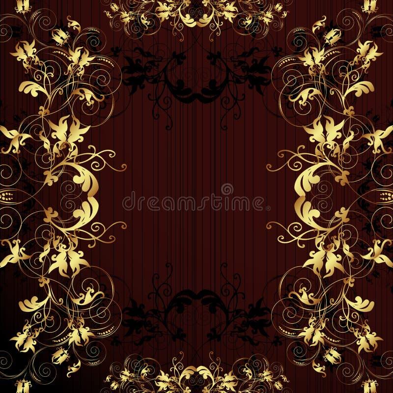 Download Flower Vintage Wallpaper. Royalty Free Stock Photos - Image: 6955458