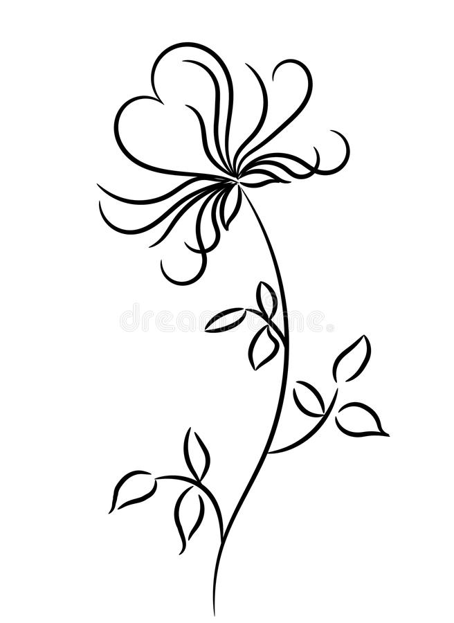 Free Flower With Heart Royalty Free Stock Photography - 13070347