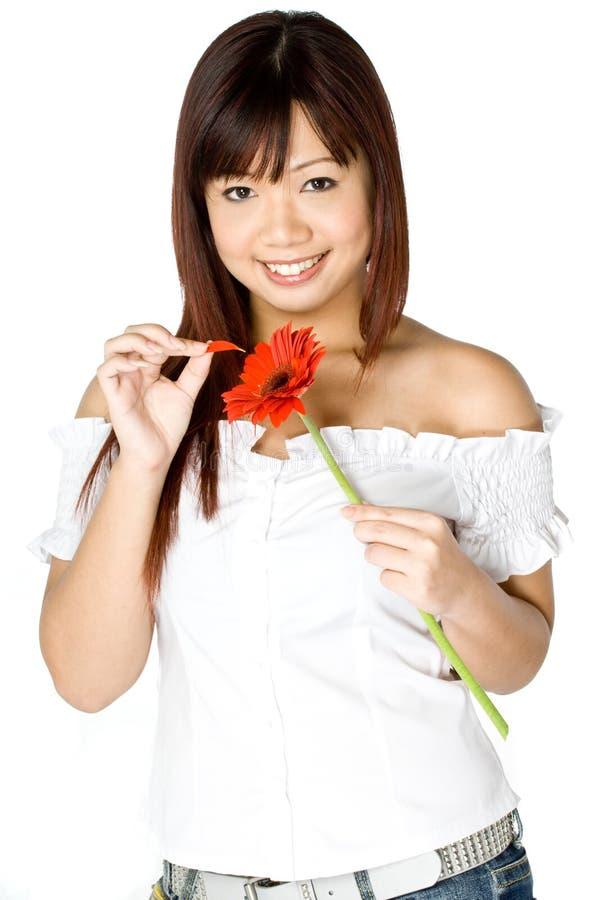 flower woman στοκ εικόνα