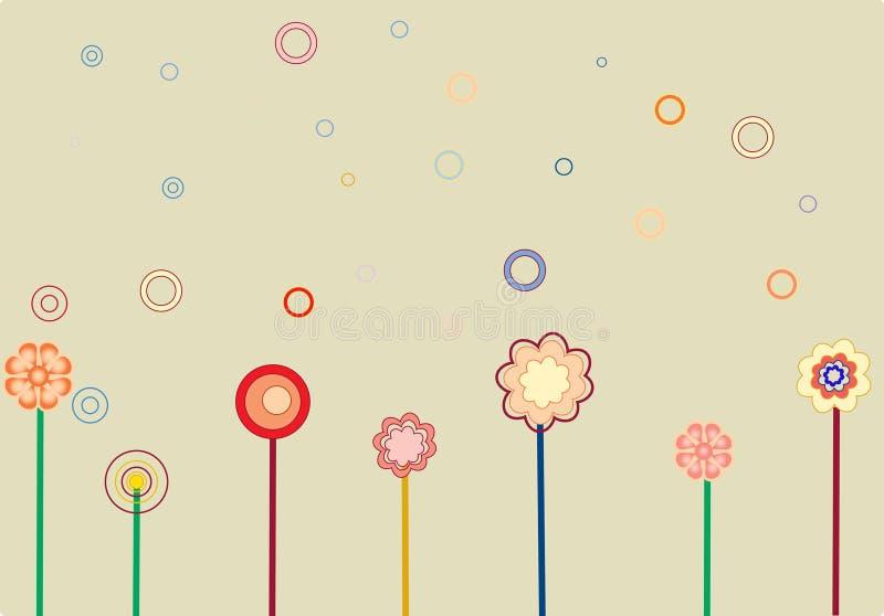 Flower1 vector illustratie