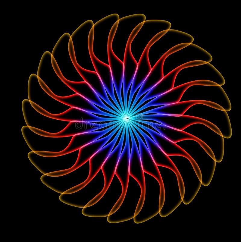 Flowerbackground abstracto imágenes de archivo libres de regalías