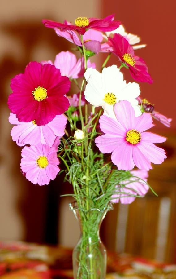 Flowered Vase stock image