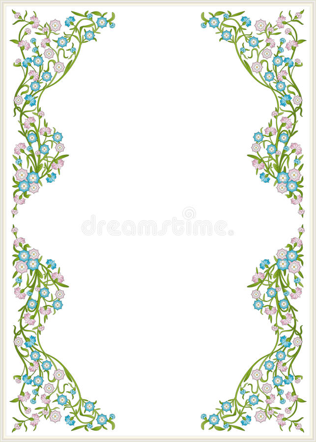 Download Flowering branches stock vector. Illustration of color - 29182587