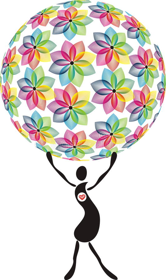 Download Flowering world stock vector. Image of ball, chest, gift - 12710360