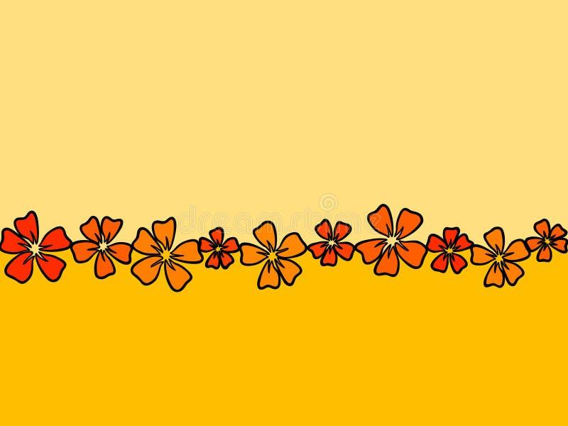 Flowerline foto de archivo libre de regalías