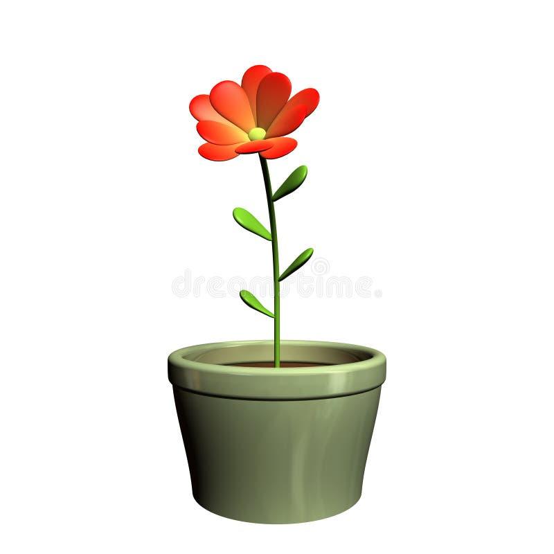 flowerpot ilustracja wektor