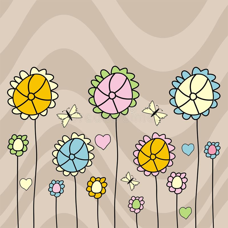 Download Flowers stock vector. Image of vector, design, colorful - 13100043