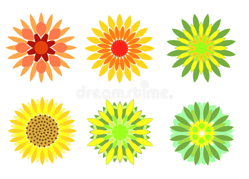 Download Flowers stock illustration. Image of daisy, backdrop, flora - 168464
