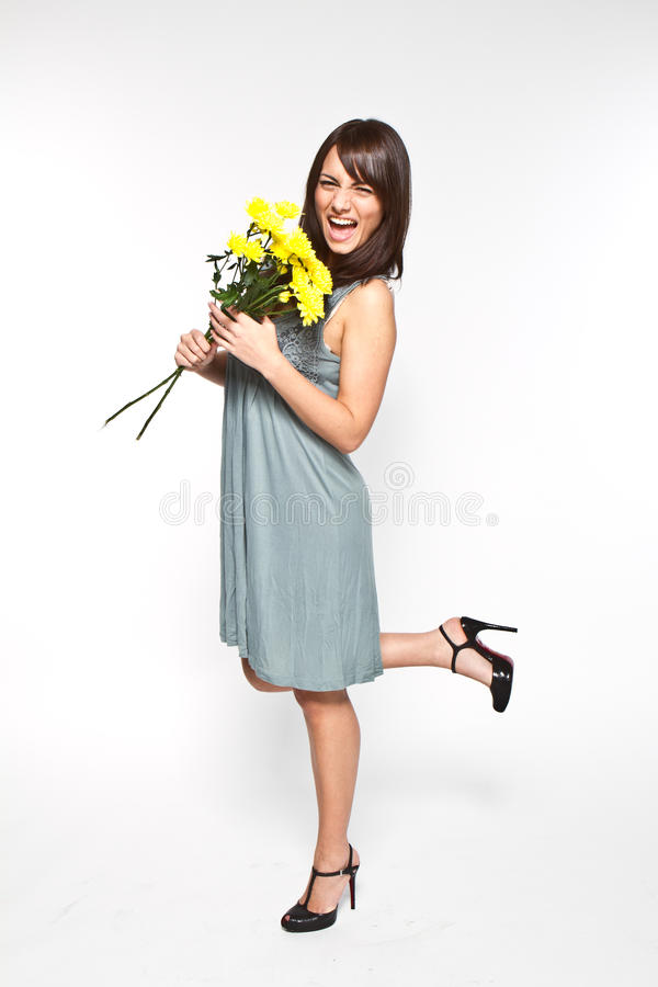 Download Flowers stock photo. Image of flowers, long, body, hair - 17125350
