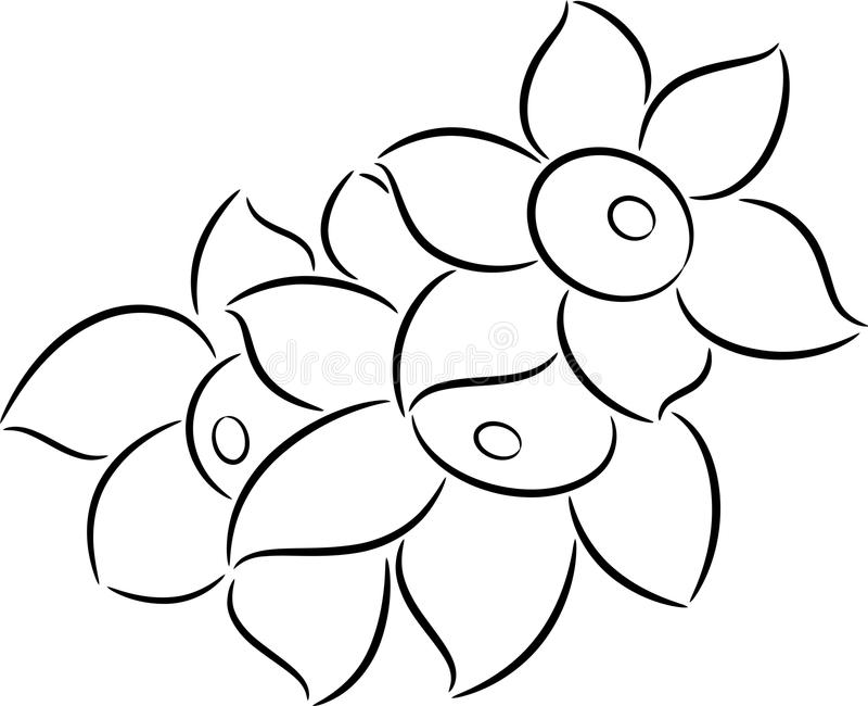 Download Flowers stock vector. Image of blossom, decorative, abstract - 19118126