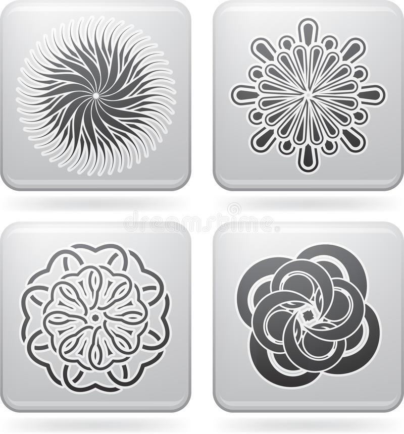 Download Flowers stock vector. Image of blossom, nature, outlines - 21973269