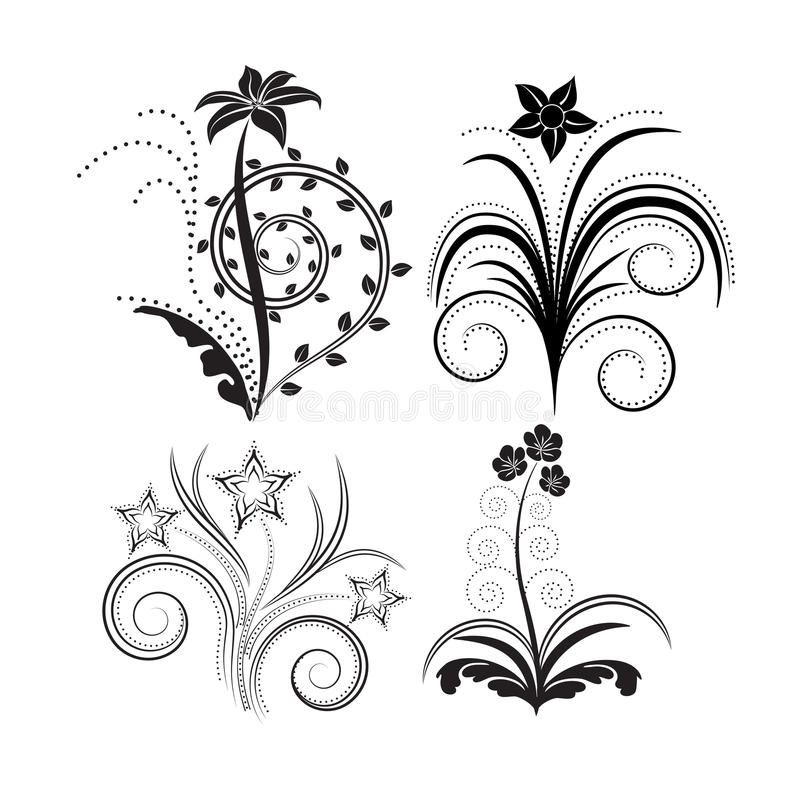 Download Flowers stock vector. Illustration of graphic, swirl - 22218188
