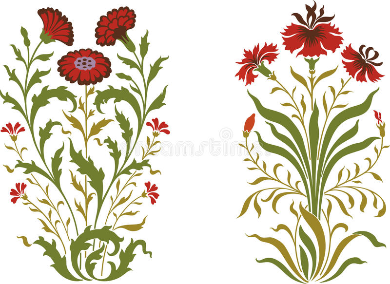 Download Flowers stock vector. Image of coloured, group, medicine - 27896485