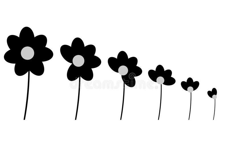 Download Flowers stock vector. Illustration of drawing, bunch, flowers - 2794001
