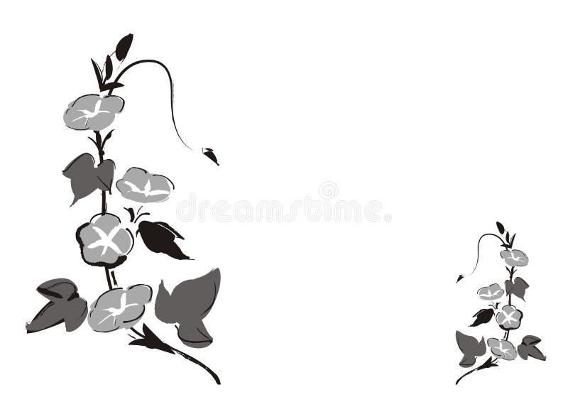 Download Flowers stock vector. Image of black, illustration, flower - 2796724