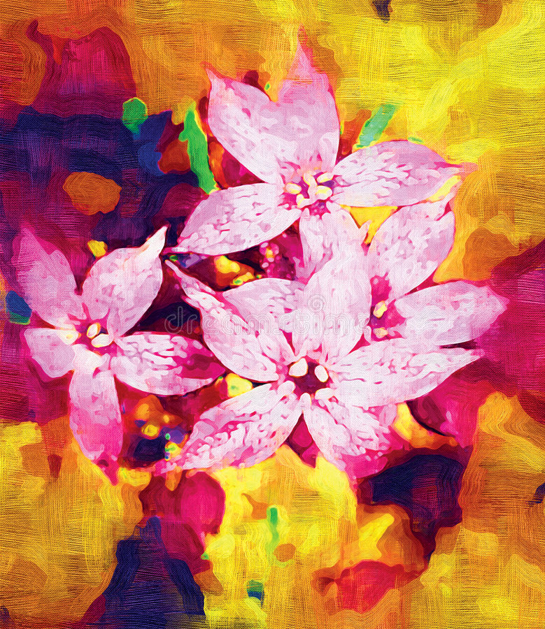 "Flowers. Artwork ""Flowers"" /oil painting, canvas"