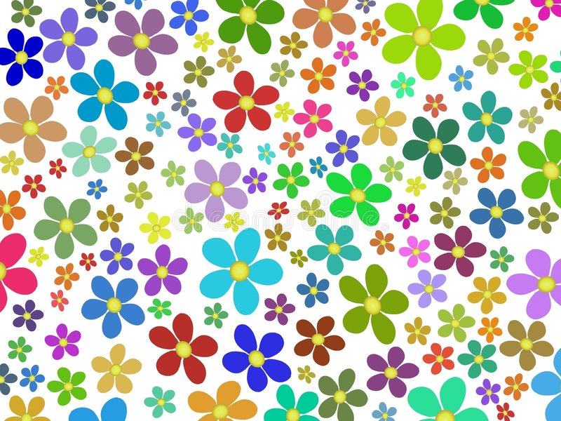 Flowers royalty free illustration